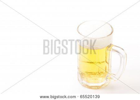 Beer That Was Poured Into A Mug