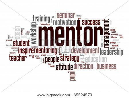 Mentor Word Cloud