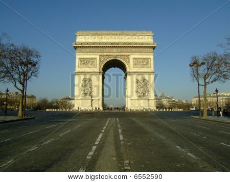 Arc de Triomphe - Arch of Triumph, Paris