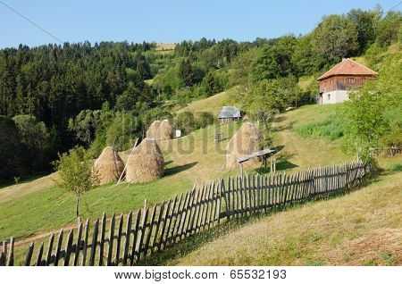 rural area of Kamena Gora Mountain, Serbia