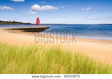 River Tyne Beach At South Shields