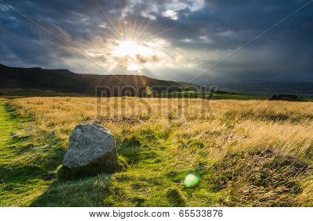 Sunburst Above Simonside