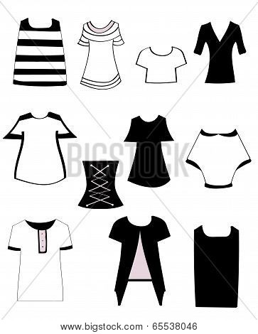 Set Women's T-shirts