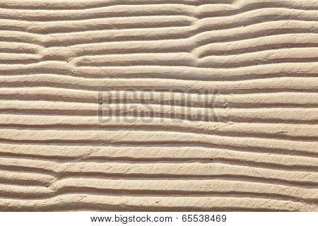 brown sand beach as background and texture