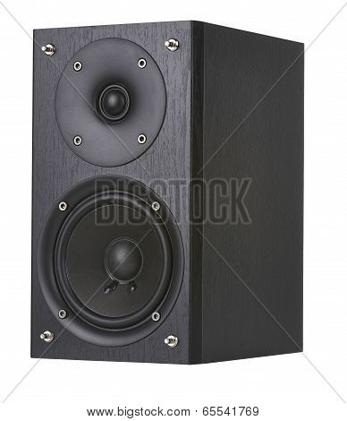 The Speaker Isolated On White Background.