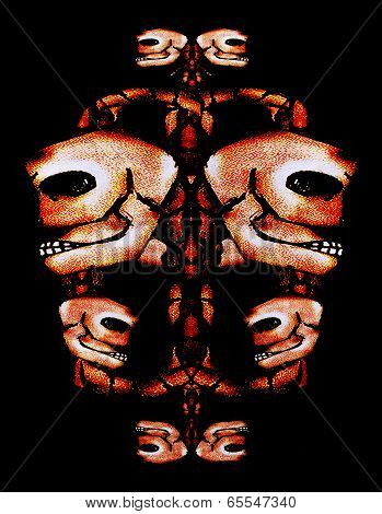 Skull Motif Ornament
