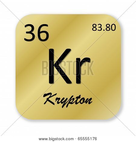 Krypton element