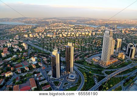 Financial View Of Istanbul