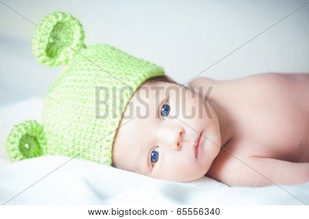 beautiful newborn boy