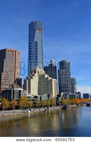 Eureka Tower, Melbourne - Tallest Building In Southern Hemisphere.