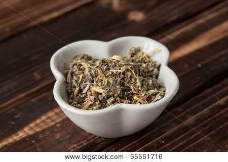 mixed herb tea