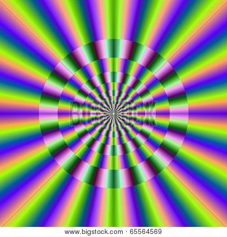 Psychedelic Circular Deviation