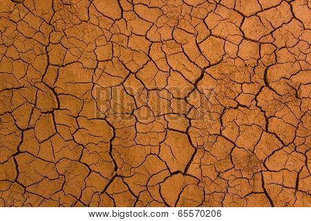Dry Soil Texture Background
