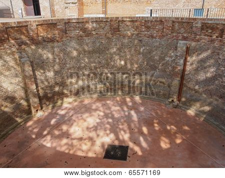 Rainwater Tank At Rivoli Castle