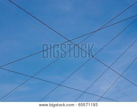 Overhead Tram Line