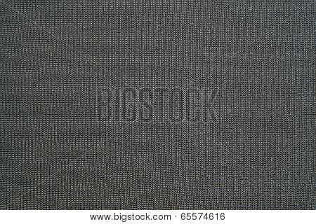 Natural Black Background Of Synthetic Fabric