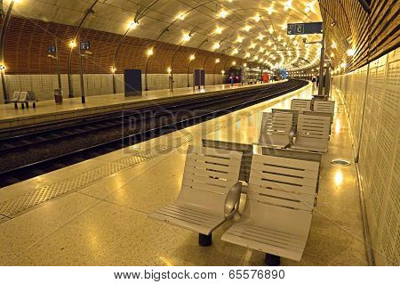 Monaco - Train Station