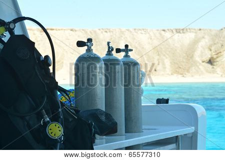 Equipment for scuba diving