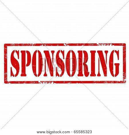 Sponsoring-stamp