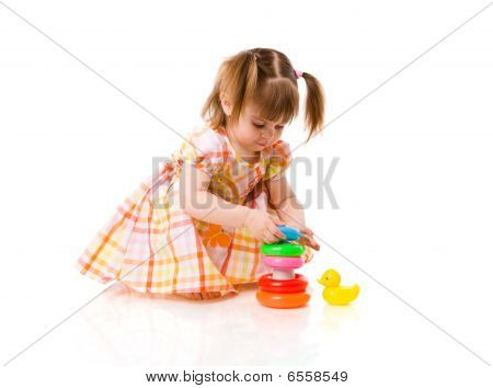 Girl Playing