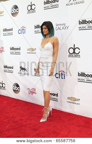 LAS VEGAS - MAY 18:  Kylie Jenner at the 2014 Billboard Awards at MGM Grand Garden Arena on May 18, 2014 in Las Vegas, NV