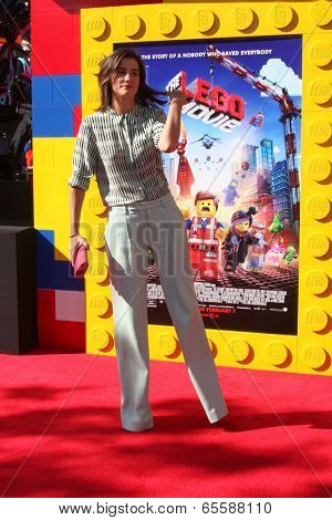 LOS ANGELES - FEB 1:  Cobie Smulders at the