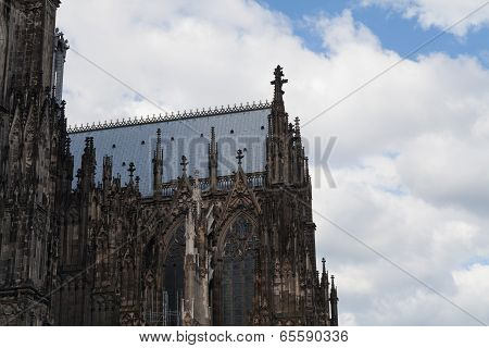 Right Aisle Of The Cologne Cathedral