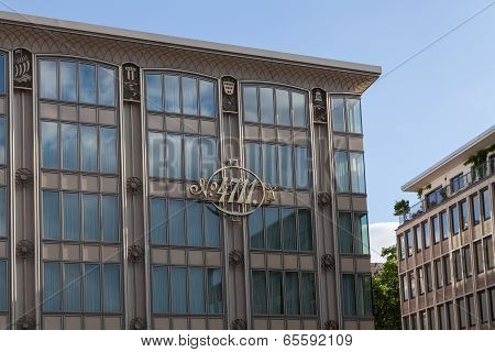 4711 Building With Blue Sky
