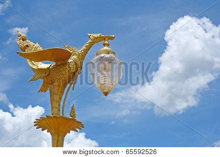 Stature Golden Bird