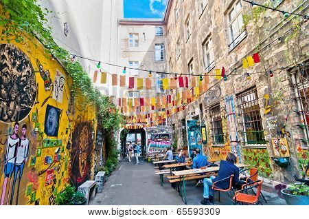 Berlin, Germany: Street View In Mitte District