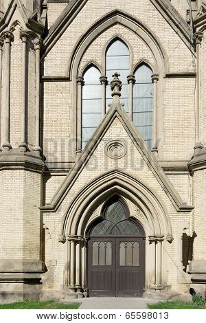 Gothic Revival Architecture Detail