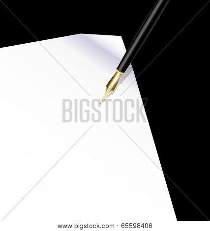 background writing