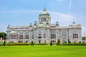 pic of throne  - The Ananta Samakhom Throne Hall in Thai Royal Dusit Palace - JPG