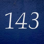 Постер, плакат: Number 143