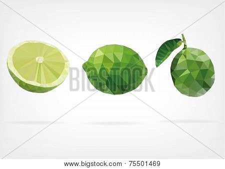 Low Poly Lime