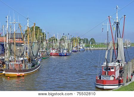 Greetsiel,east Frisia,german North Sea