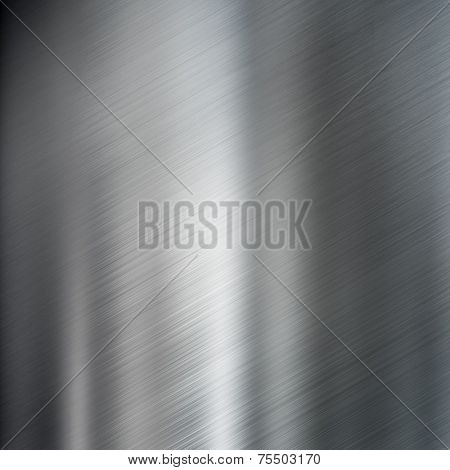 brushed steel metal texture or background