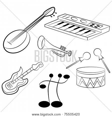 An image of musical instruments.