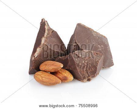 Dark Chocolate Chunks With Almond