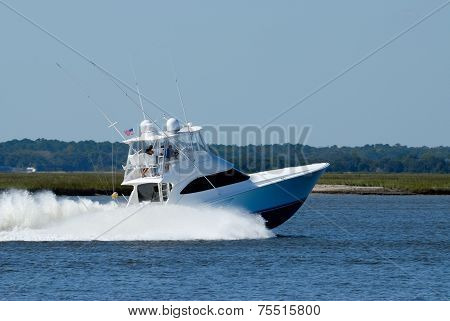 High Speed Yacht