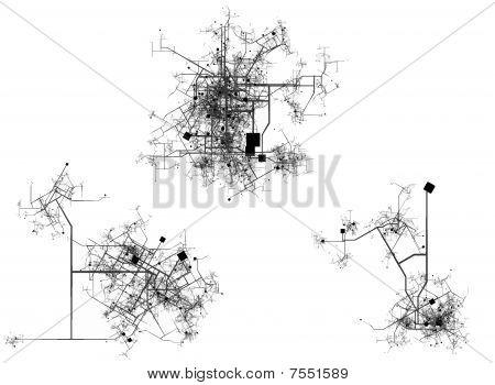 Plan de la ciudad