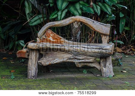 Wooden Bench, Object