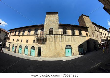 Sansepolcro Street Italy