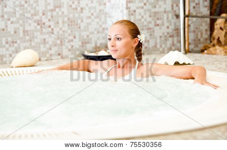Relaxing In The Jacuzzi