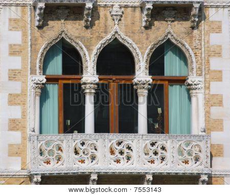 Windows, Venice, Italy