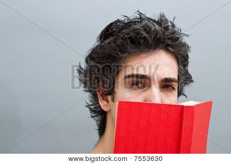 Student Reading A Suspense Novel