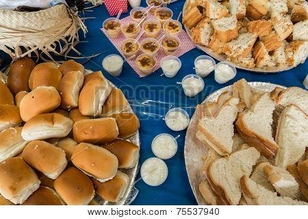 Table of Festa Junina Party