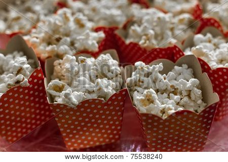 Pop Corn prepared for a celebration