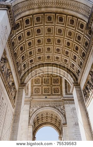 Triumphal Arch From Below
