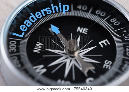 Compass Indicating Leadership